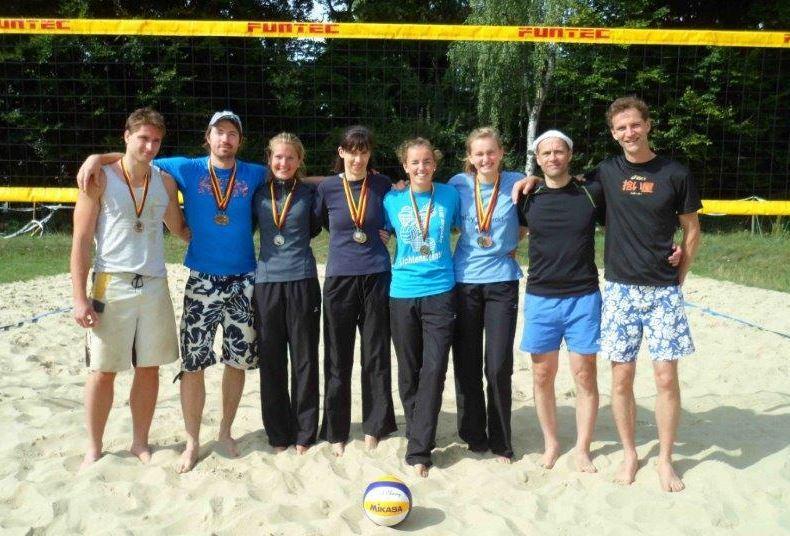 Beachvolleyballer/innen aus Sachsen