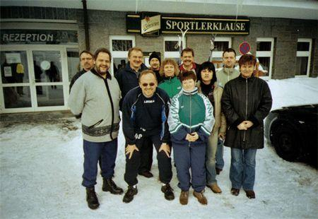 Kegel-Team in Rabenberg  Feb 2006
