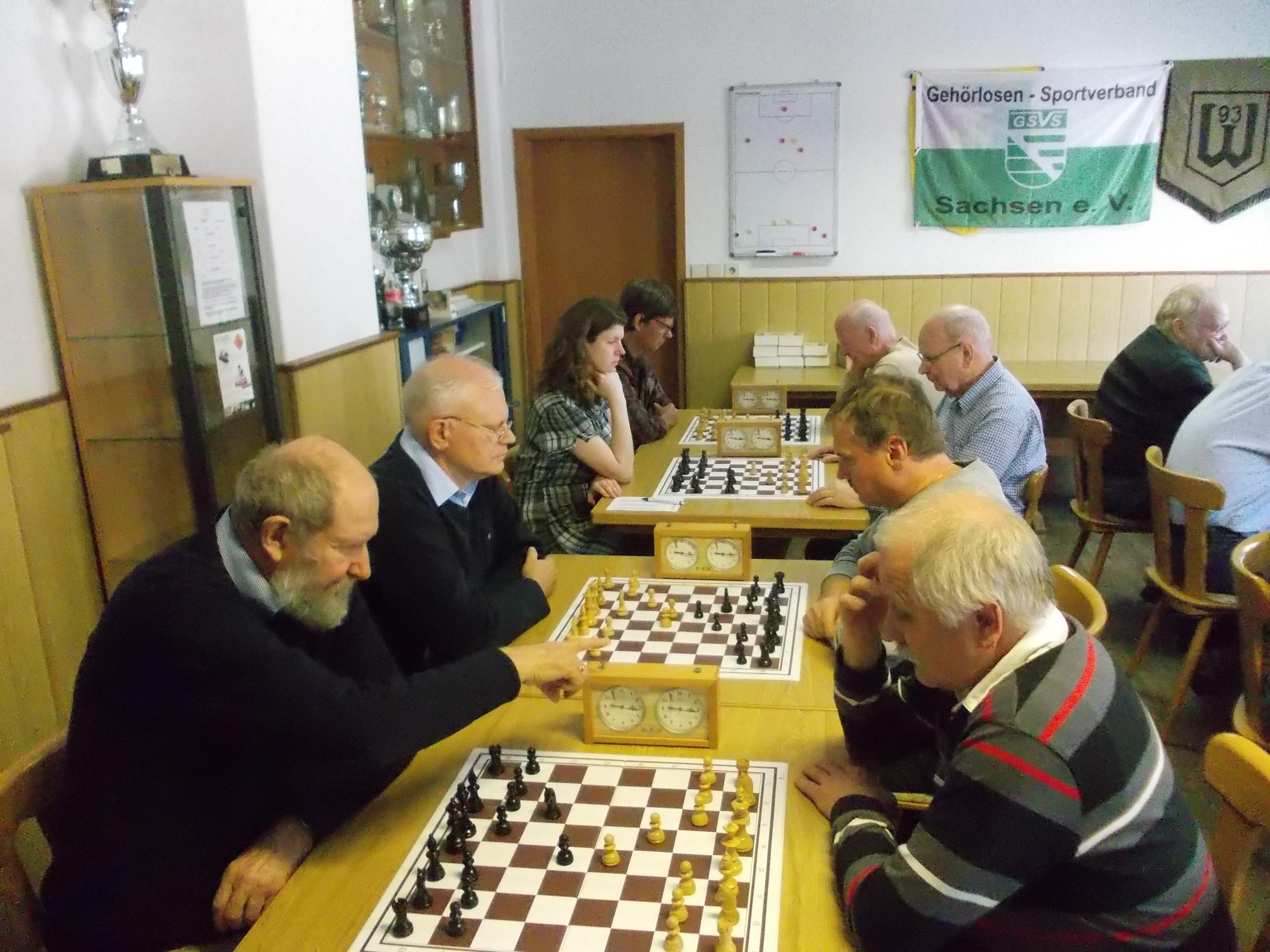 Schach Sachsen